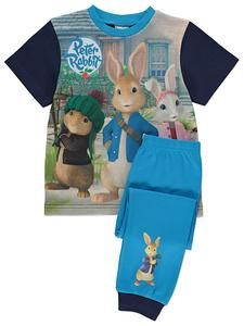 "Peter Rabbit "" Lily Bobtail"" Girls Pyjama Set 2-3 Years"