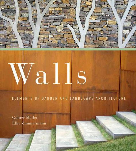 Wall-those built elements of garden and landscape architecture that define borders, create spaces, and provide protection-are essential to the landscape designer's repertoire. This comprehensive and g