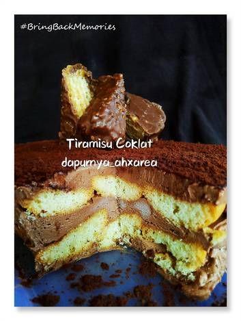 Resep Tiramisu Coklat Tiramisu Kw Oleh Trinity Alexandrea Resep Hidangan Penutup Coklat Tiramisu