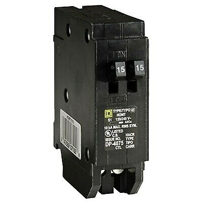 Details About Square D By Schneider Electric Homt1515cp Homeline 2