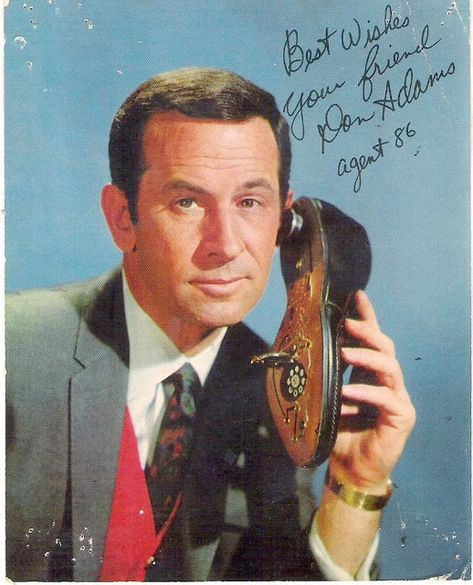 Don Adams as Maxwell Smart, Secret Agent 86 of the TV series Get Smart Childhood Tv Shows, My Childhood Memories, Don Adams, Mejores Series Tv, Nostalgia, Cinema Tv, Old Shows, 70s Tv Shows, Comedy Tv