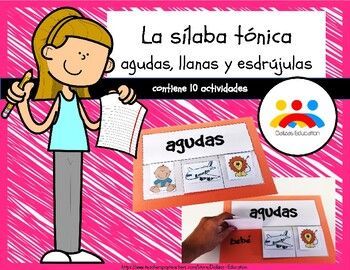 La Sílaba Tónica La Tilde Agudas Llanas Y Esdrújulas Lesson My Teacher Curriculum