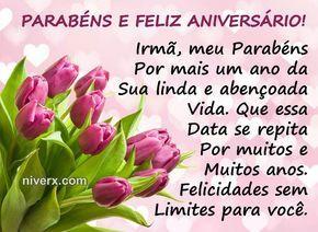 Frases Para Aniversário De Irmã Celular Whatsapp Facebook