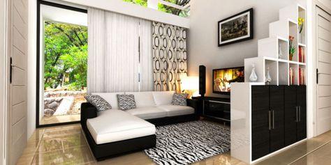 3 tipe rumah minimalis idaman keluarga | ruang tamu rumah
