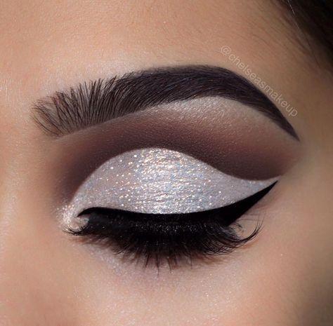 Trendy Makeup Glitter Glam Cut Crease Ideas Antiagingmakeup In