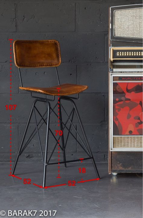Chaise De Bar En Cuir Design Chaise Bar Chaise De Bar Design
