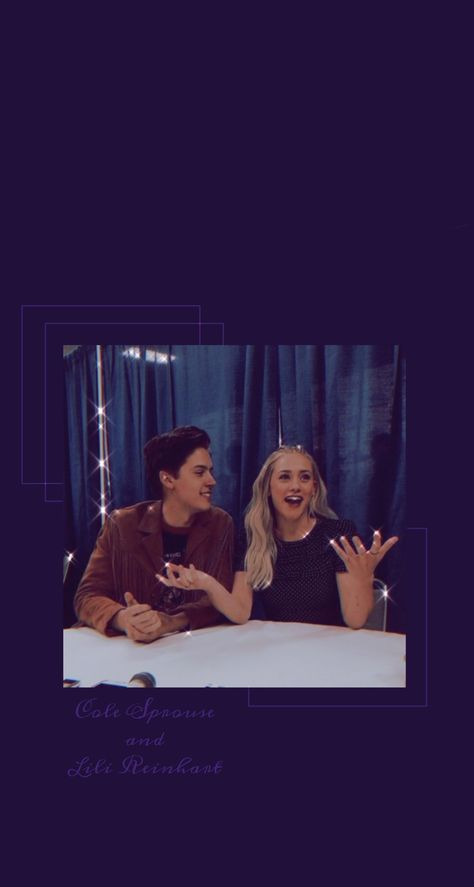 Cole Sprouse and Lili Reinhart wallpaper