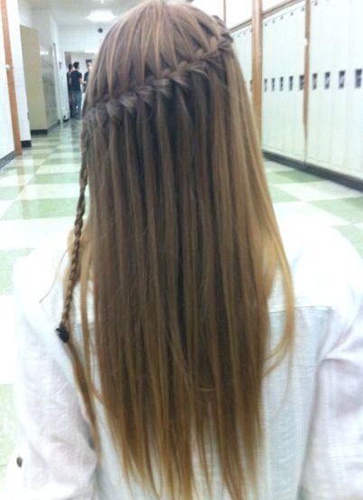 30 Einfache Und Einfache Frisuren Fur Glattes Haar Bob Frisur Zopf Lange Haare Glatte Haare