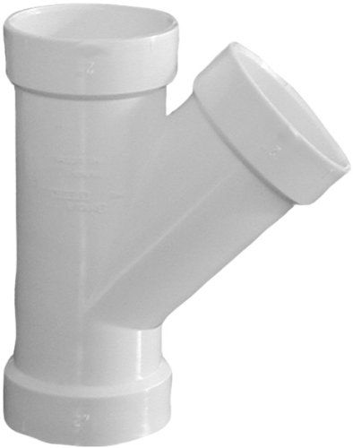 Genova Products 71021 Reducing Wye Pipe Fitting 2 X 1 1 2 Rough Plumbing Pipes Pipe Fittings And Accessories Plumbing Pipe Pipes Plumbing