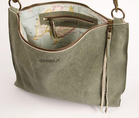 leren schouder tas crossbody leather | SPRDLX.NL handgemaakte leren tassen & shoppers