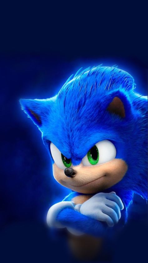Wallpaper HD IPhone - Sonic MOVIE !!