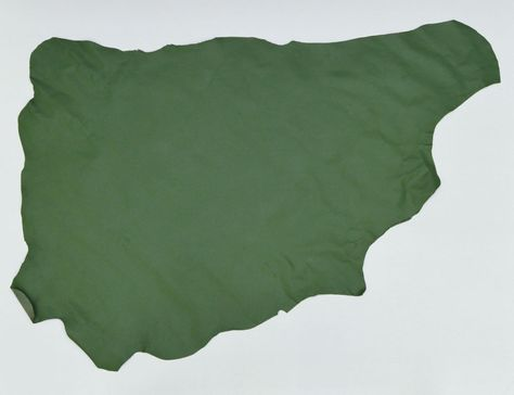 0.6 mm IDEAL FOR BOOKBINDING 4 @ 20CM X 15CM OLIVE GREEN GOATSKIN LEATHER