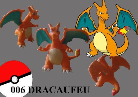 Pokemon Dracaufeu Fimo Fimo Charizard Pokemon