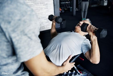 Download Premium Image Of People Exercising At Fitness Gym 378332 Gym Workouts Exercise Senior Fitness