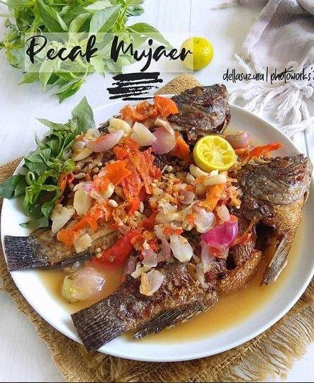 Pecak Mujaer Resep Masakan Masakan Resep Masakan Asia