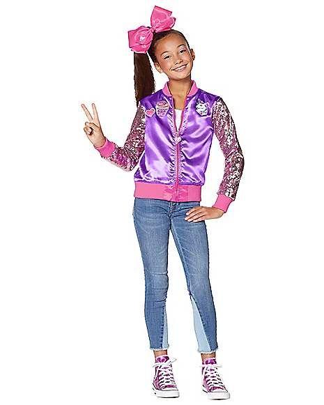 Child Jacket Costume Jojo Siwa