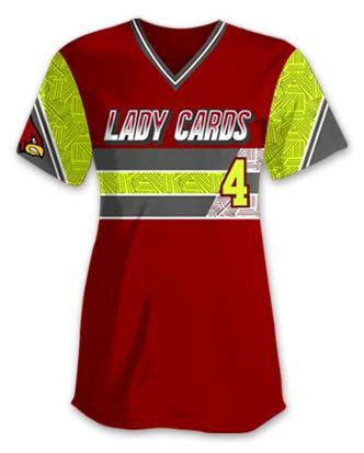 Design Your Own Softball Jerseys On Our Uniform Builder @  Www.TeamSportsPlanet.com