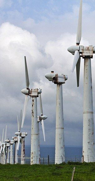 Broken down and rusting, is this the future of Britain's 'wind rush'?