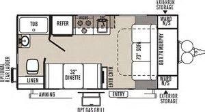 Image Result For Cargo Trailer Conversion Floor Plans 8x16