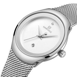 Fashion Watch Women Quartz Watches Lady Waterproof Stainless Steel Wristwatch