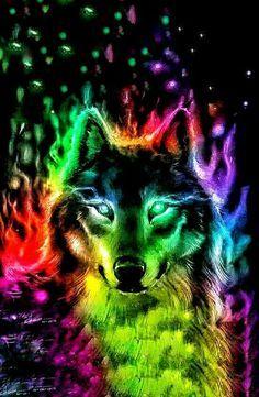 Alpha Wolf Wolf Background Wolf Wallpaper Wolf Art