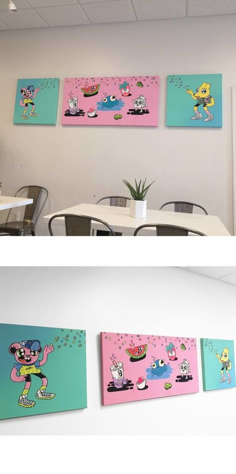 Paintings - Wall Painting