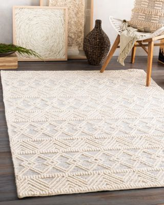 Surya Hygge Hyg 2306 Area Rug 3 X 5 In 2021 Blue And White Rug Rugs In Living Room Wool Area Rugs