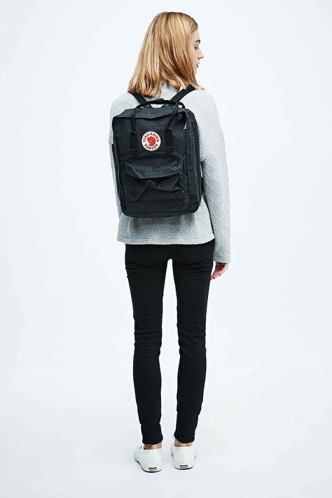Shop Fjallraven Kanken Classic Black Backpack at Urban Outfitters today. We carry all the latest styles, colours and brands for you to choose from right here.