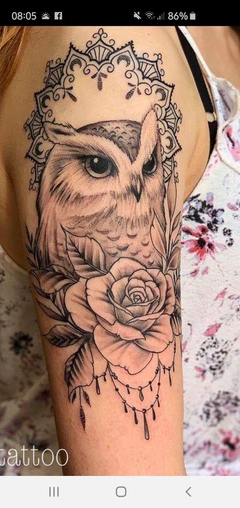 Pin De July En Tatoo Con Imagenes Tatuaje De Lechuza Tatuaje