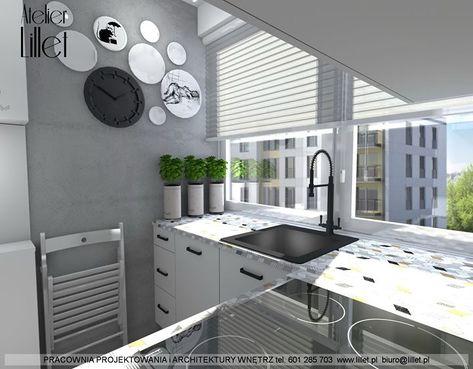 Koncepcja Malej Kuchni W Budynku Wielorodzinnym W Szczecinie
