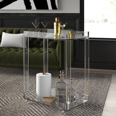 Mercury Row Channing Mini Bar With Wine Storage Mini Bar Wine Storage Bar Cabinet
