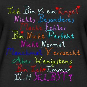 Ich bin kein Engel - Freche Sprüche T-Shirts - Frauen Premium T-Shirt
