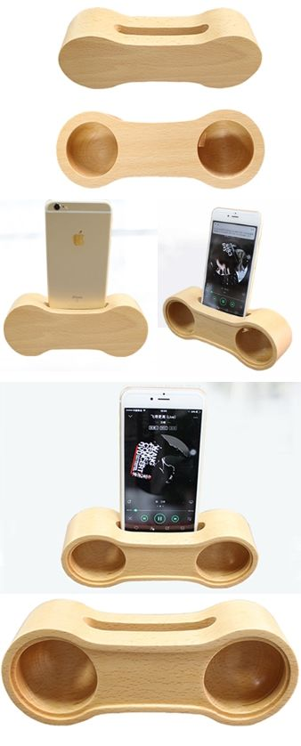 50d12bd06b835e Bamboo Wooden radio iPhone Speaker Pen Pencil Stand Holder iPhone Cell  Phone Sound amplifier Cell Phone Stand Holder Mount Holder Amplification  Stands ...