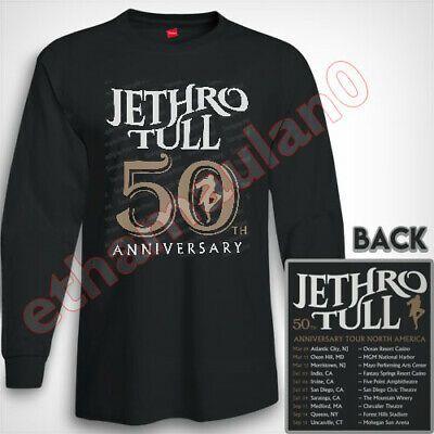 Jethro Tull 50th Anniversary North America Tour 2019 T shirt S to 3XL MEN/'S