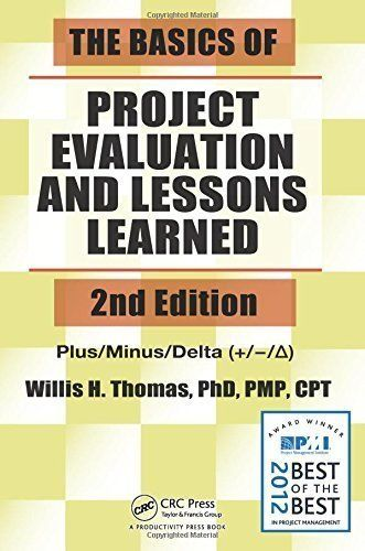 Télécharger Livre The Basics of Project Evaluation and Lessons - project evaluation