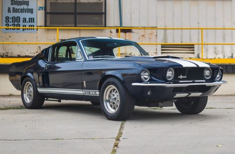 Bid for the chance to own a 1967 Shelby Mustang at auction with Bring a Trailer, the home of the best vintage and classic cars online. Ford Mustang 1967, Ford Mustang Shelby Gt500, Mustang Cobra, 2015 Mustang, Ford Mustang Eleanor, 1967 Shelby Gt500, Mustang Boss, Black Mustang, Classic Mustang