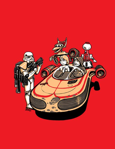 These Aren't The Droids You're Looking For - Star Wars + MST3K - Kaigetsudo.deviantart.com