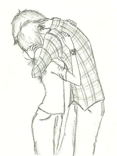 Anime Drawings Of Best Friends Drawings Of Friends Boy And Girl Drawing Couple Drawings