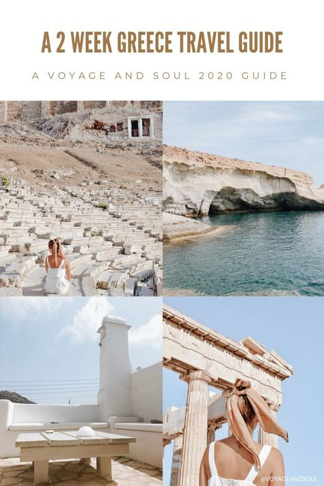 A 2 Week Greece Travel Guide   Voyage and Soul