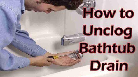 Superb New Post Trending Bathtub Drain Clog Home Remedy Visit Entermp3.info |  Trending Ideas | Pinterest | Drain Clog, Bathtub Drain And Bathtubs