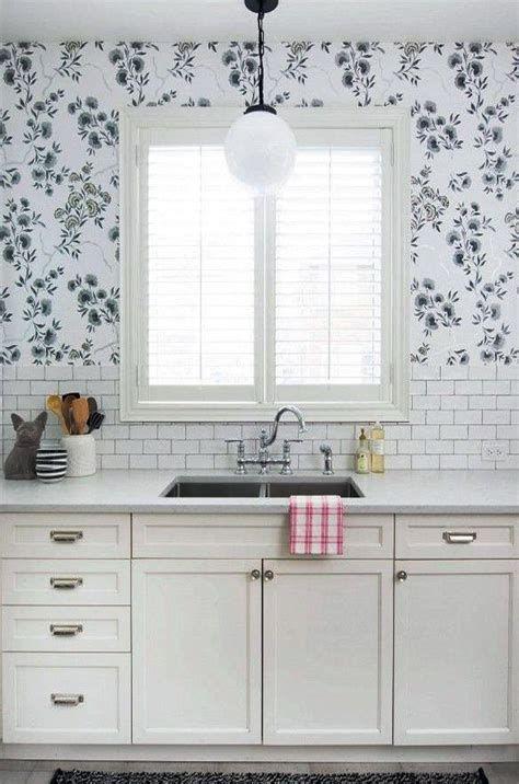 Kitchen Wallpaper Ideas Country And Modern Kitchen Wallpaper