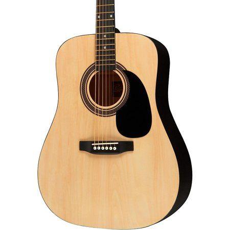 Rogue Ra 090 Dreadnought Acoustic Guitar Walmart Com In 2020 Guitar Tuners Best Acoustic Guitar Semi Acoustic Guitar
