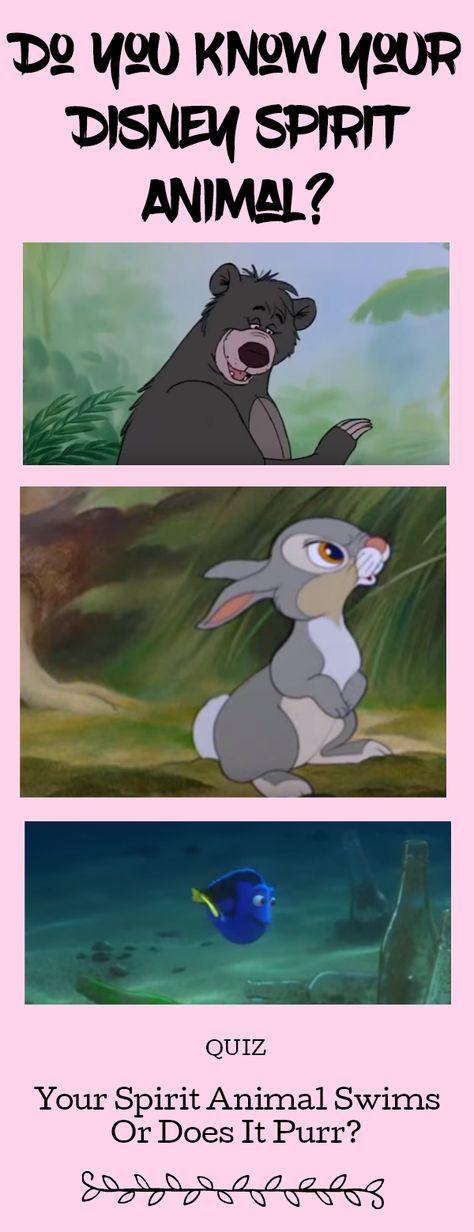 Do you know your Disney Spirit Animal?