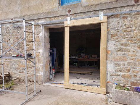 Fabriquer Une Porte De Grange Coulissante Portes De Grange Coulissantes Porte Grange Grange En Bois