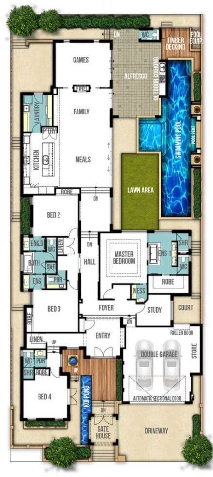 Bathroom Layout Plans Study 50 Ideas Dream House Plans Split Level Home Designs House Layouts