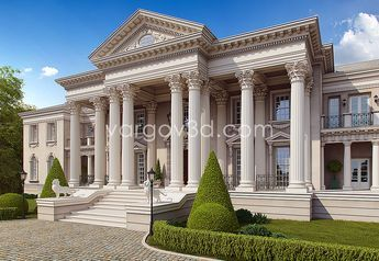 Roman Style Palace In 2019 Clic House Design