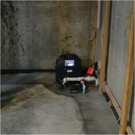 Lovely Installing A Sump Pump In An Existing Basement