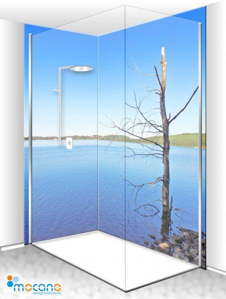 Duschruckwand Lichtung Lichtdurchflutet In 4 Auswahlbaren Varianten Lichtung Eck Duschruckwand Wunder Schone Eck Duschruckwa In 2020 Dusche Duschruckwand Duschwand