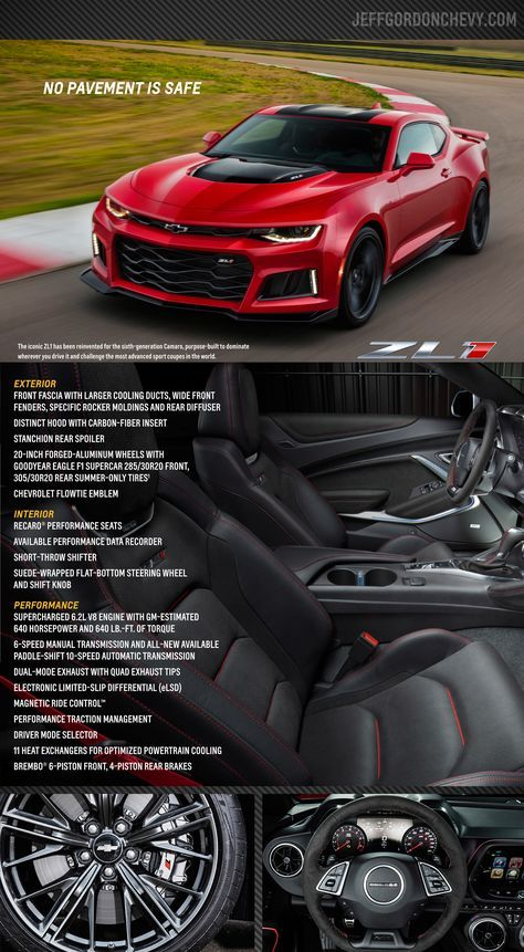 The 2017 Chevy Camaro Zl1 Coupe Will Be Available At Jeff Gordon Chevrolet By The End Of 2016 The Convertible Will Be Avai Camaro Camaro Zl1 2017 Chevy Camaro