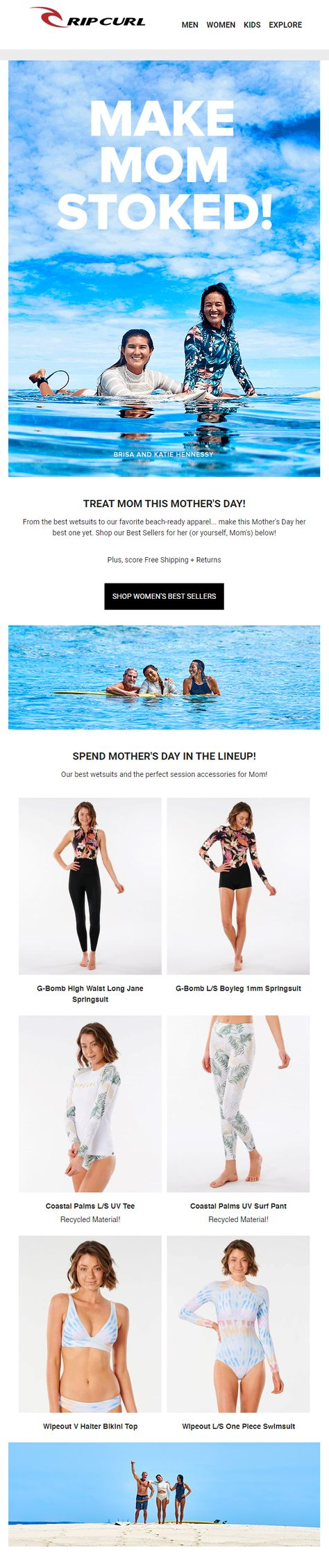 Shop Wetsuits, Boardshorts and Bikinis  | Rip Curl Europe Online Store